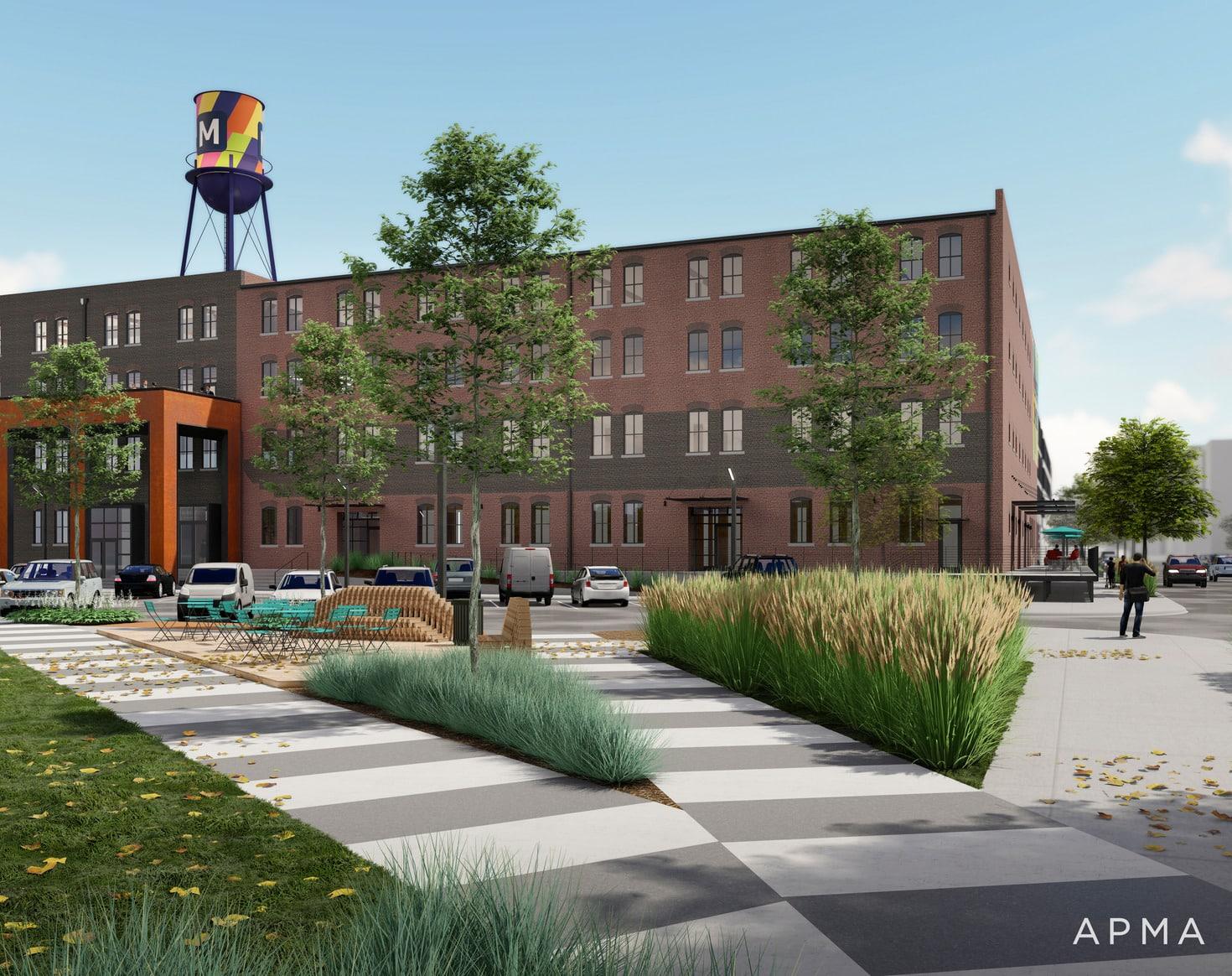 Ashton building rendering